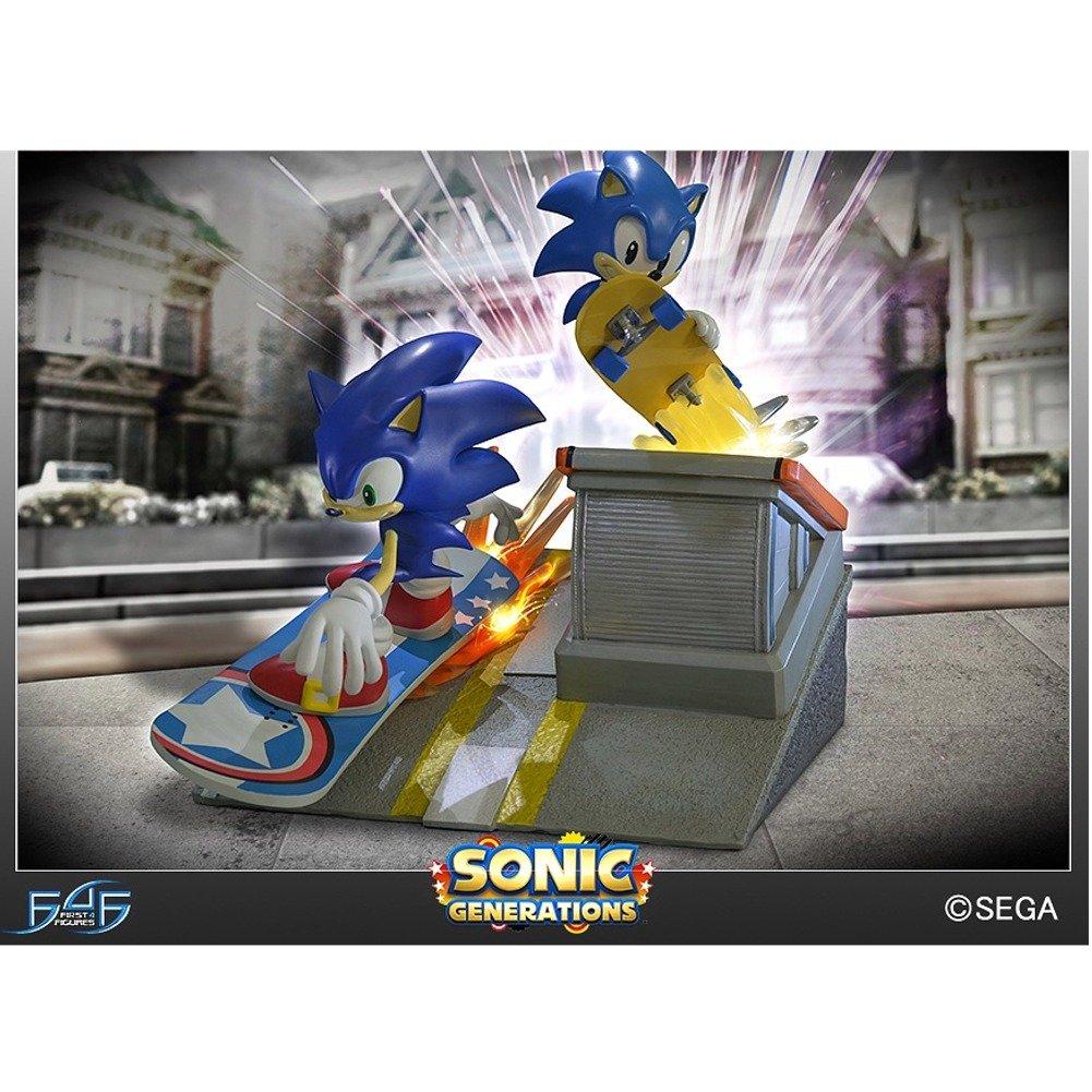 First 4 Figure F4F047 Sonic Generations Diorama Statue