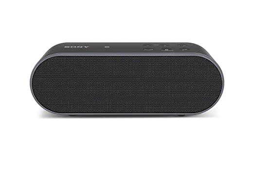 Sony SRSX2 Ultra-Portable NFC Bluetooth Wireless Speaker (Black) with Speakerphone