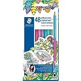 Staedtler-Mars 1272C24BLU Johanna Basford Duo Colored Pencils