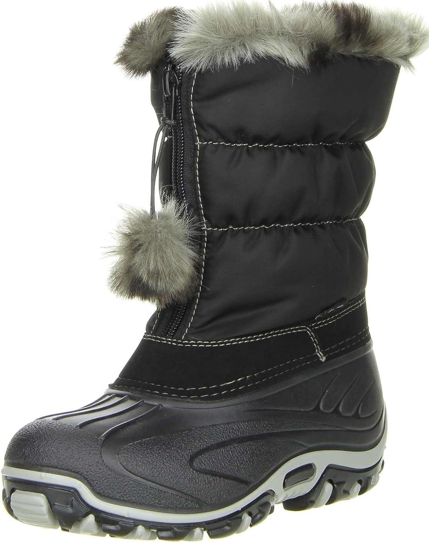 Kinder Mädchen Winterstiefel Snowboots Vista Canada POLAR schwarz jetzt kaufen