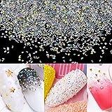 10000Pcs Ultra Mini 1.3mm Micro Diamond Glass Sand Rhinestone Crystals AB Long Lasting Shine Like Swarovski for Nail Art Beauty Makeup DIY Craft Dekor
