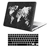 iLeadon MacBook Pro 15 Inch Case with CD ROM 2008-2012 Release Model A1286 Rubberized Hard Shell Cover+Keyboard Cover for MacBook Pro 15
