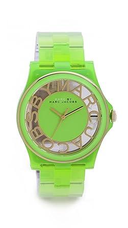 montre marc jacobs bracelet cuir marron