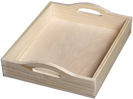 Wooden Trays Unfinished