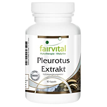 Pleurotus Extrakt 500mg 30% Polysaccharide (150mg) 90 vegetarische Kapseln