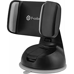 F-color Universal Cell Phone / GPS Holder Car Mount Cradle in Black