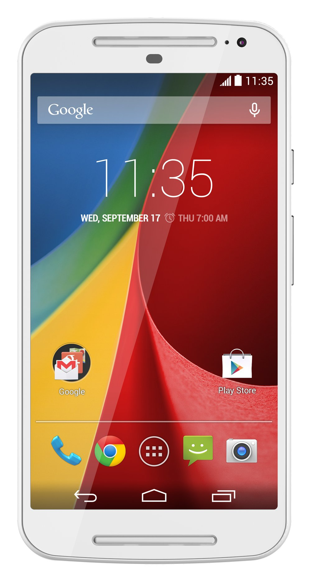 Motorola Moto G (2nd generation) - Global GSM - Unlocked - 8GB White