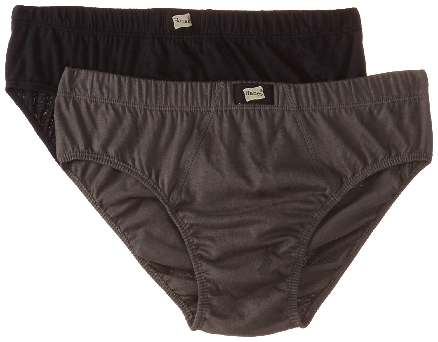 Deals on Hanes Men's Cotton Briefs (Pack of 2)