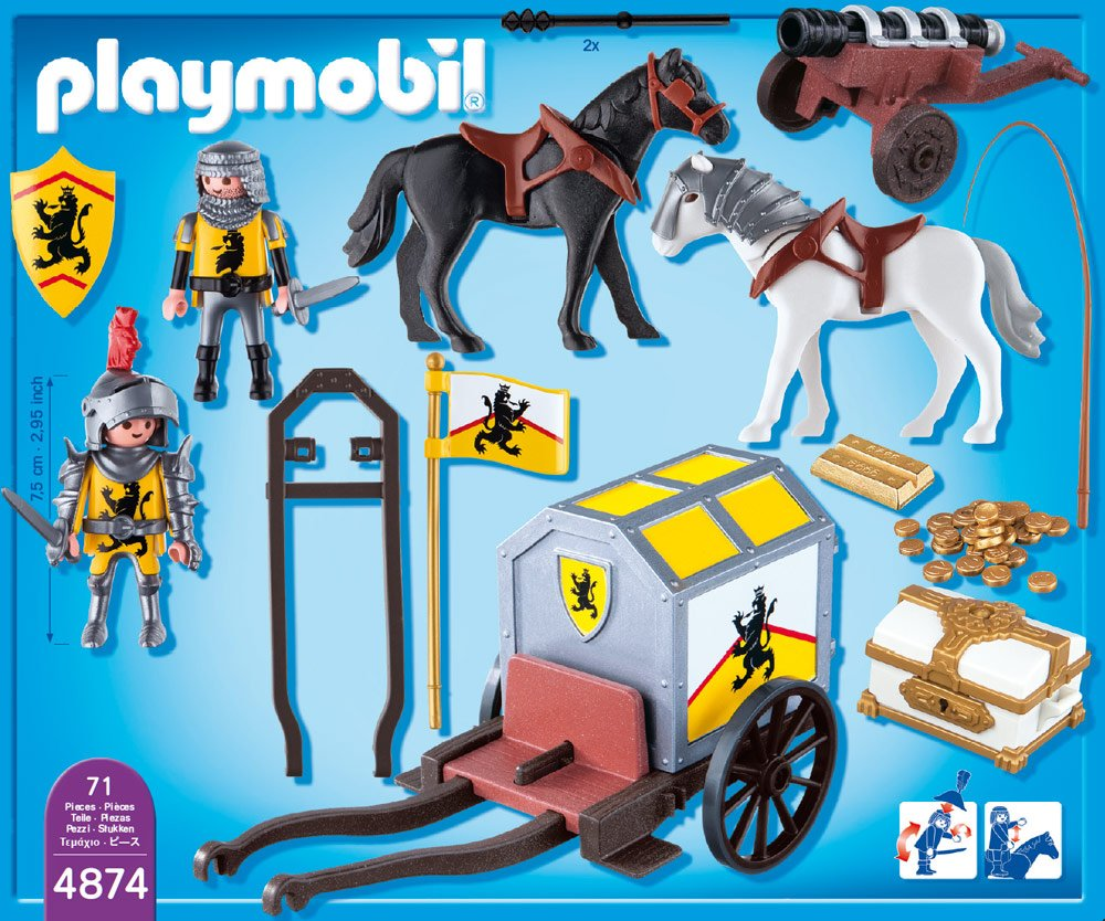 The middle ages themed resources and freebies - Playmobil kutsche ...