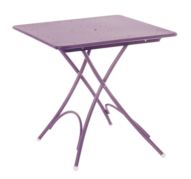 Emu 309078200N Pigalle Klapptisch 907, 76 x 76 cm, pulverbeschichteter Stahl, lila günstig