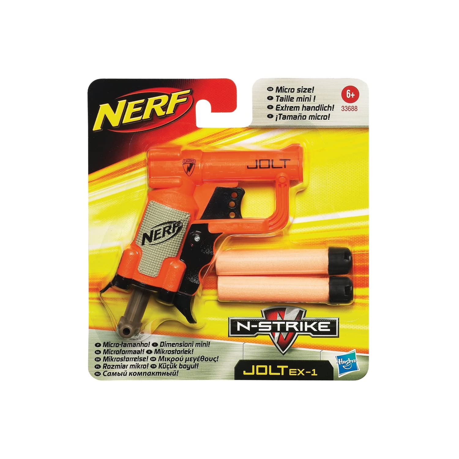 ACTION GAME PLAY FUN DART GUN BLASTER NERF N-STRIKE JOLT ...
