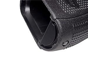 Fixxxer Gen 4 - 5 Aluminum Grip Frame Plug for Glock 17 18 19 22 23 24 25 31 32 34 35 37 38 Black