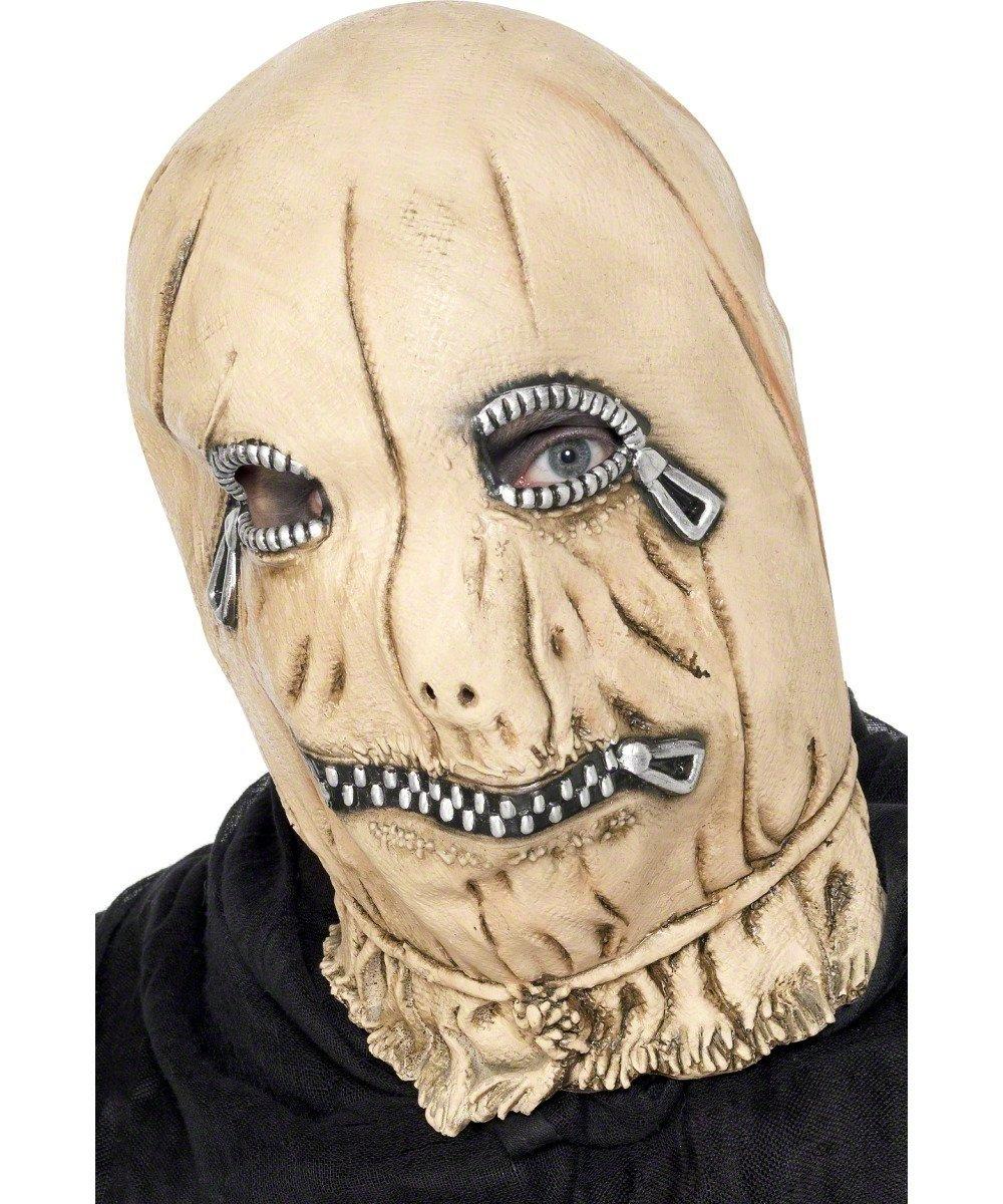 Máscara con cremalleras para adulto ideal para Halloween   más noticias y comentarios