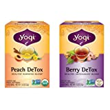 Yogi Tea Detox Two Pack - Peach and Berry …