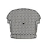 Agri-Fab 69411 110-130 lb Spreader Grate Kit, Black (Color: Black)