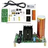 Aideepen DC 15-24V DIY Music Tesla Coil Kit 15W Mini Plasma Speaker Set Electronic Field Wireless Transmission Music Project Parts