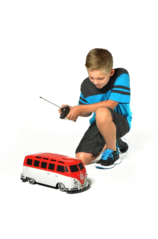"Maisto R/C 1:10 Scale Volkswagen Van ""Samba"" Radio Control Vehicle (Colors May Vary)"