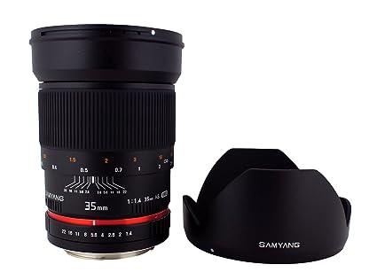 Lens 35mm F1.4 Samyang Sy35mae-n 35mm F1.4