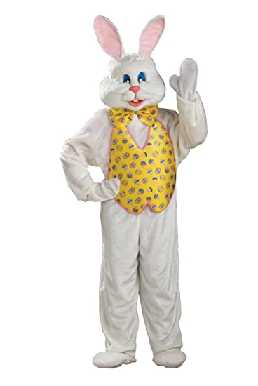 Rubie's Costume Deluxe Bunny Suit With Hood, Multi, X-Large Costume