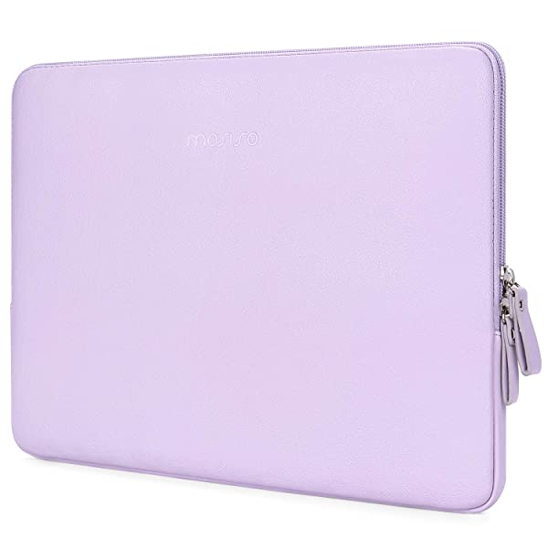 MOSISO PU Leather Sleeve Compatible 2019 2018 MacBook Air 13 A1932 Retina 2019