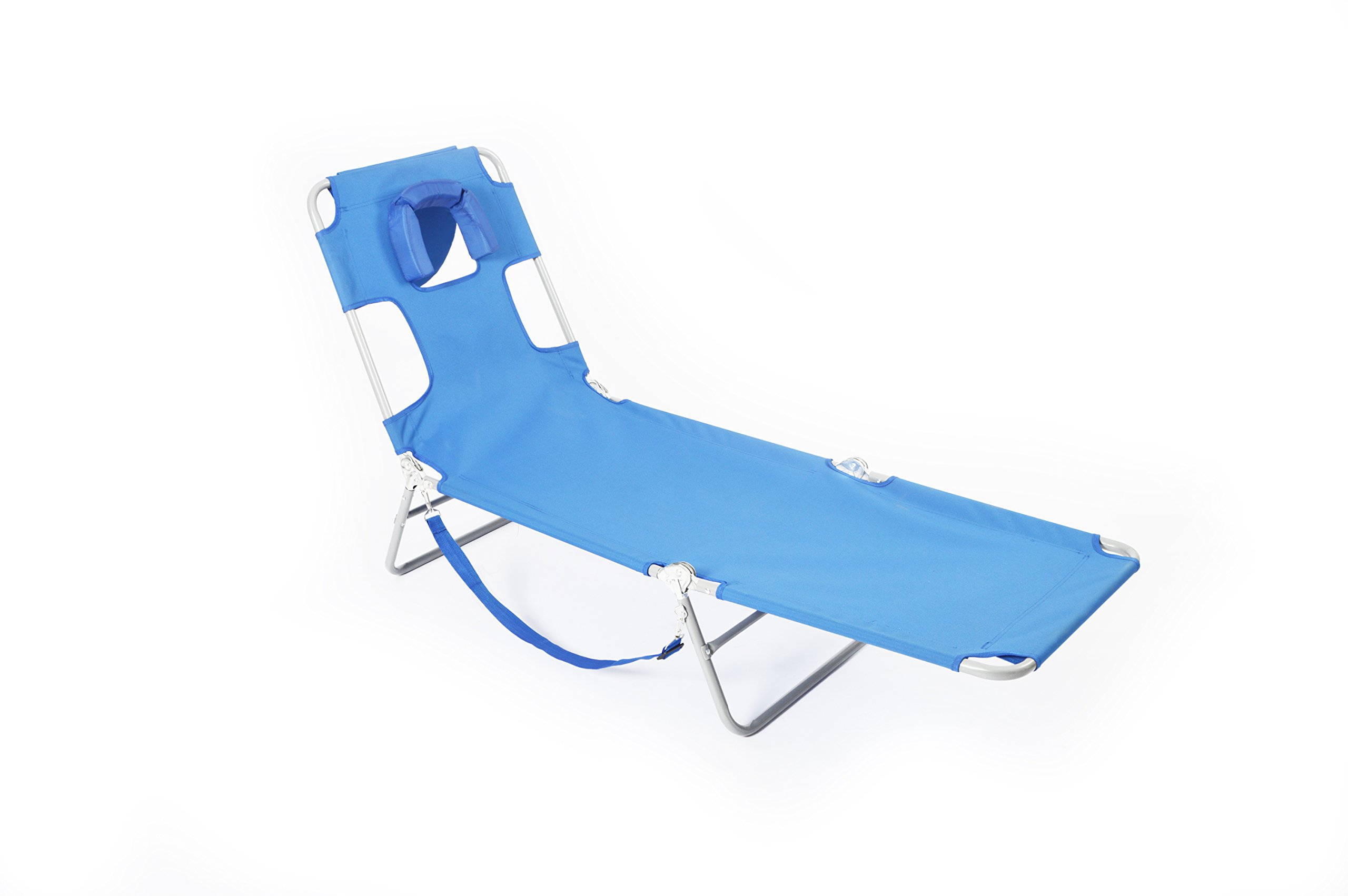 Blue Ostrich Beach Chaise