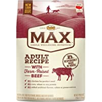 Nutro Max 25 lbs Beef Natural Adult Dry Dog Food