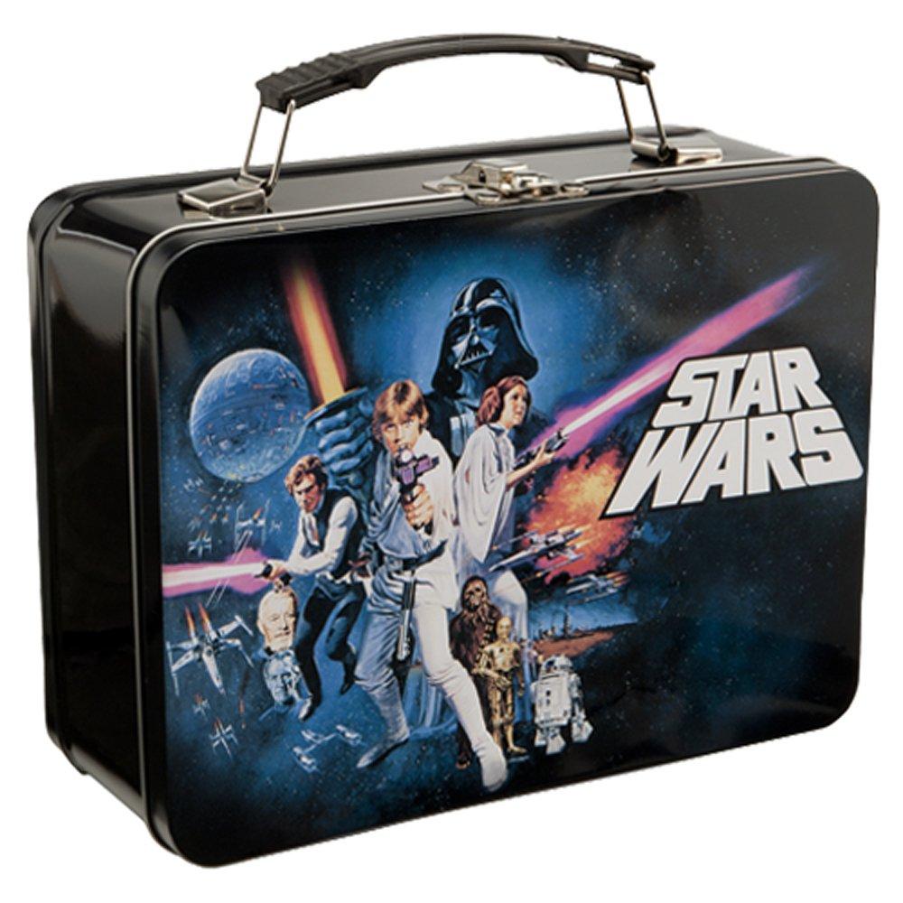 Vandor 99270 Star Wars Episode 4 Large Tin Tote, Black 0