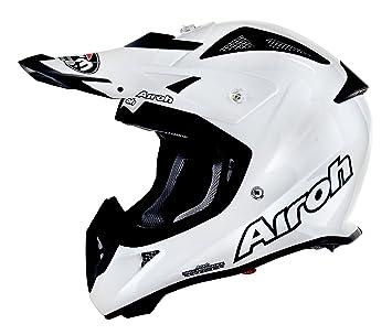Airoh aviator aJ12 casque de moto-blanc