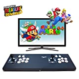 ElementDigital Arcade Games Console Joystick Game Fightstick Pandora's Treasure 3D Box Arcade Machine Double Players 1080P HD HDMI VGA Cable Support TF Card for More Arcades Support TV PC PS4 Xbox 360