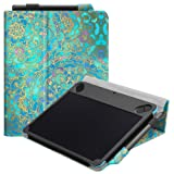Fintie Vegan Leather Case Stand Cover for Wacom Intuos Draw CTL490DW CTL490DB / Art CTH490AK CTH490AB / Comic CTH490CK CTH490CB / Photo CTH490PK Digital Drawing, Painting Tablet, Shades of Blue (Color: Shades of Blue)