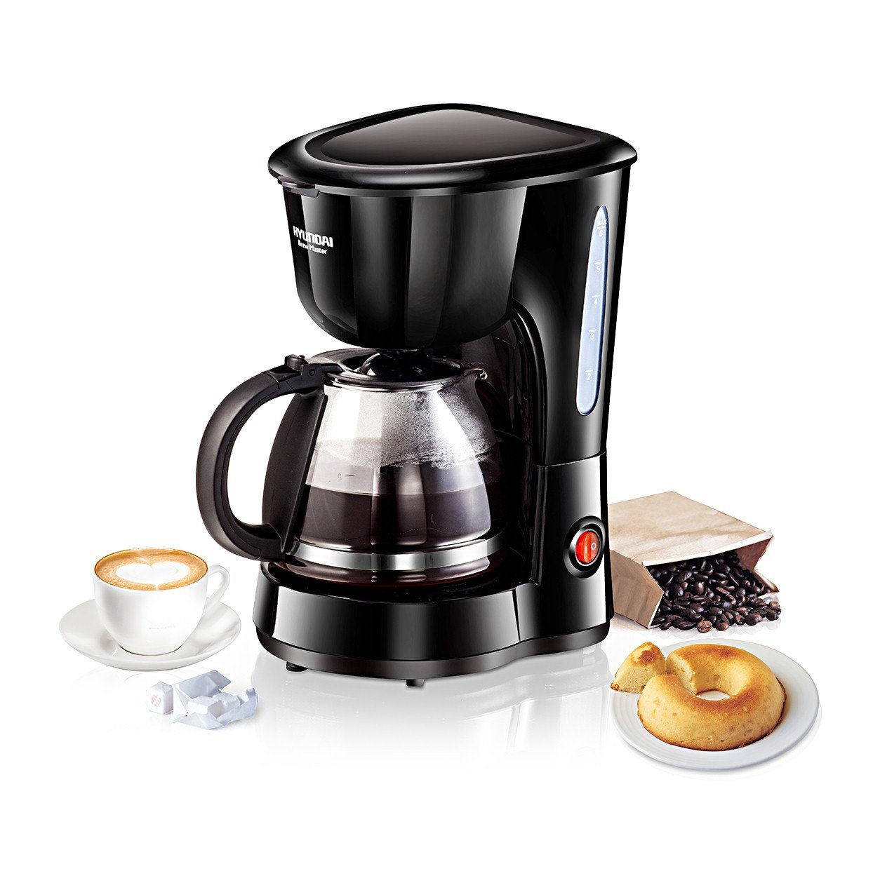 Electronic What To Look For When Buying A Coffee Machine drip coffee machines buy online at low hyundai cm hdb6b07 cxf 6 cup maker black