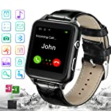 Smart Watch,Bluetooth Smartwatch Touchscreen with Camera, Smart Watches Waterproof Smart Wrist Watch Phone Compatible Android for Men Women Kids (Color: Black5)