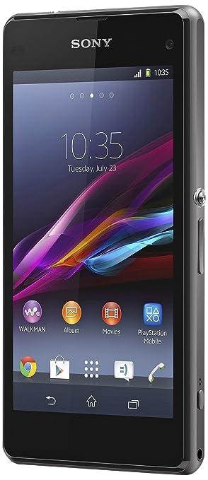 Sony Mobile Xperia Z1 Smartphone débloqué 4.3 pouces 16 Go Android 4.4 Noir (import Allemagne)