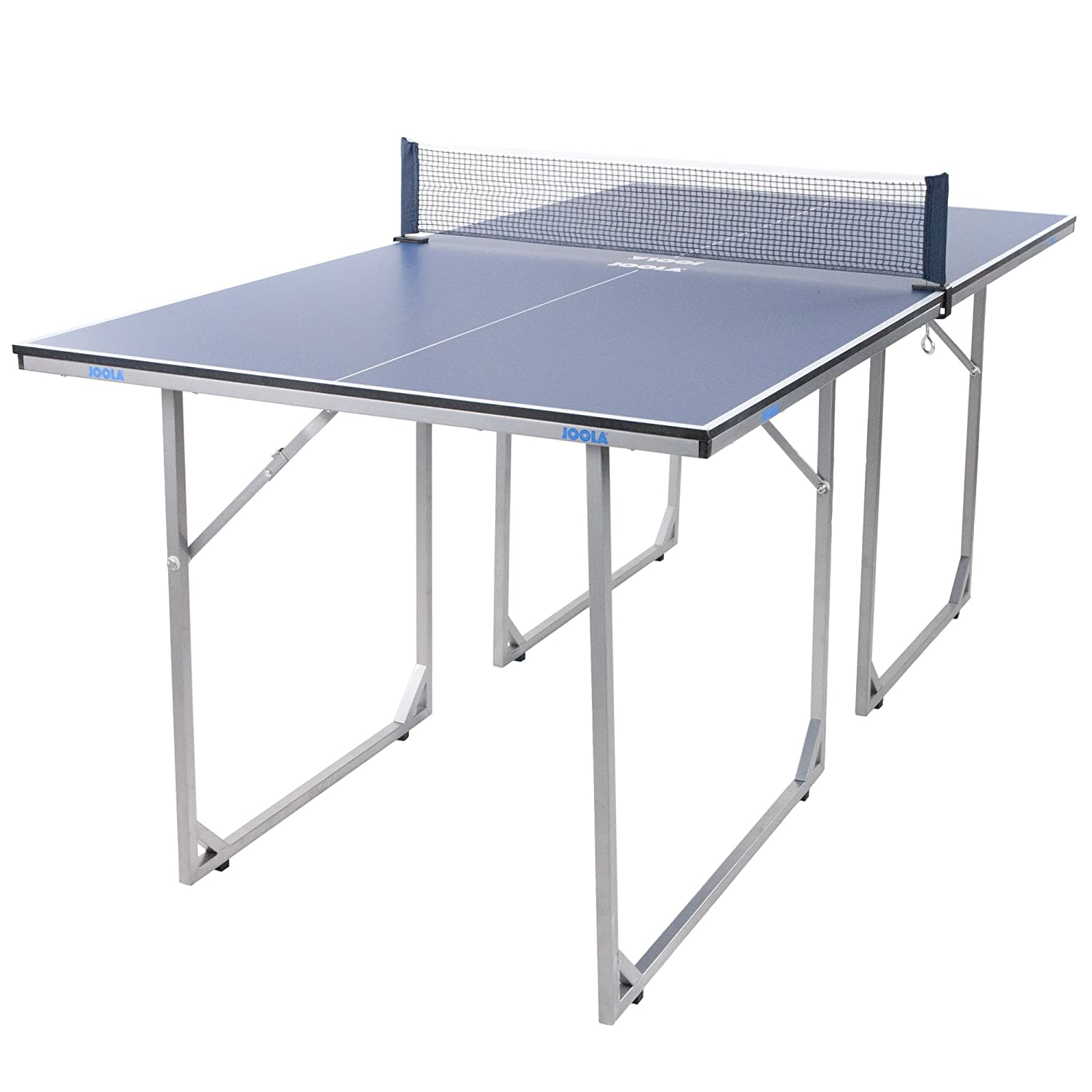 Table tennis table ping pong folding w 2 separate halves - What is the size of a ping pong table ...