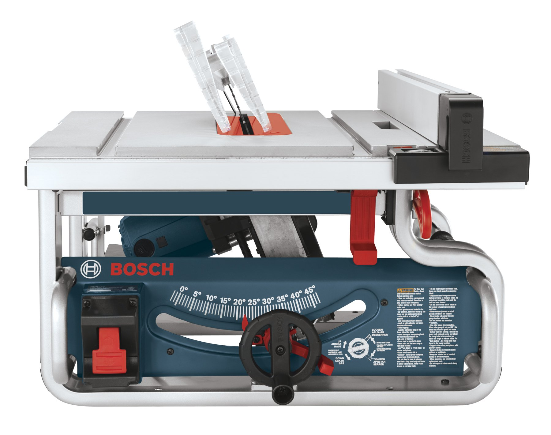 Bosch gts1031 10 inch portable jobsite table saw ebay for 10 jobsite table saw