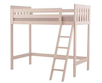 Canwood Alpine II Loft Bed, White