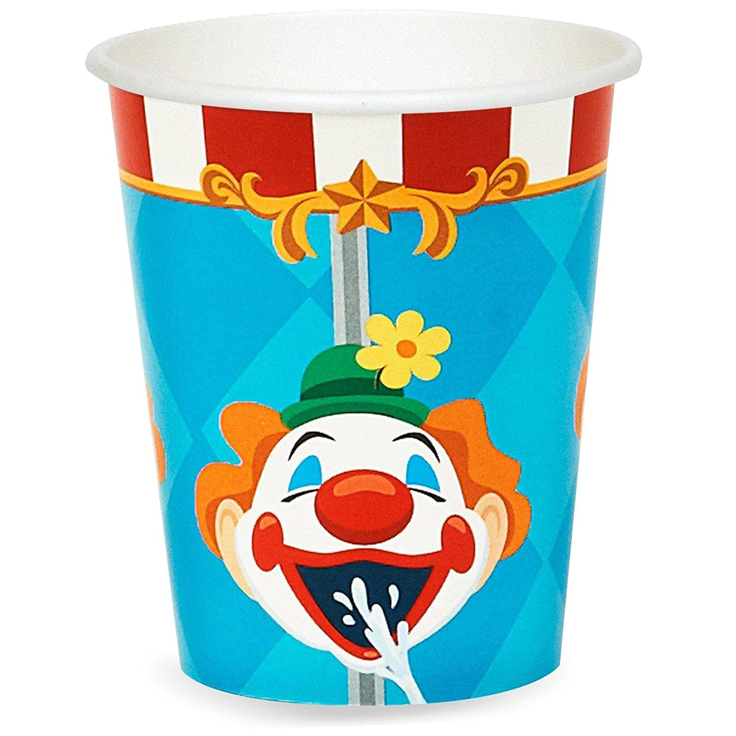 12 Fun Circus Carnival Party Games: Circus Birthday Party Cups
