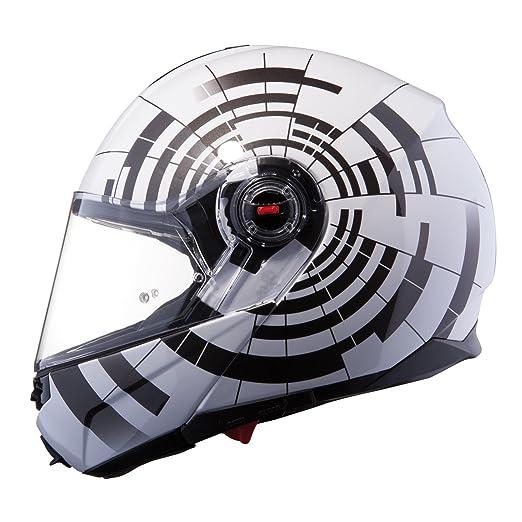 LS2 fF386 ride-casque à visière