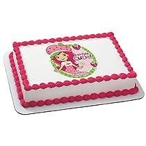 Tutti Fruitti Edible Image Cake Topper