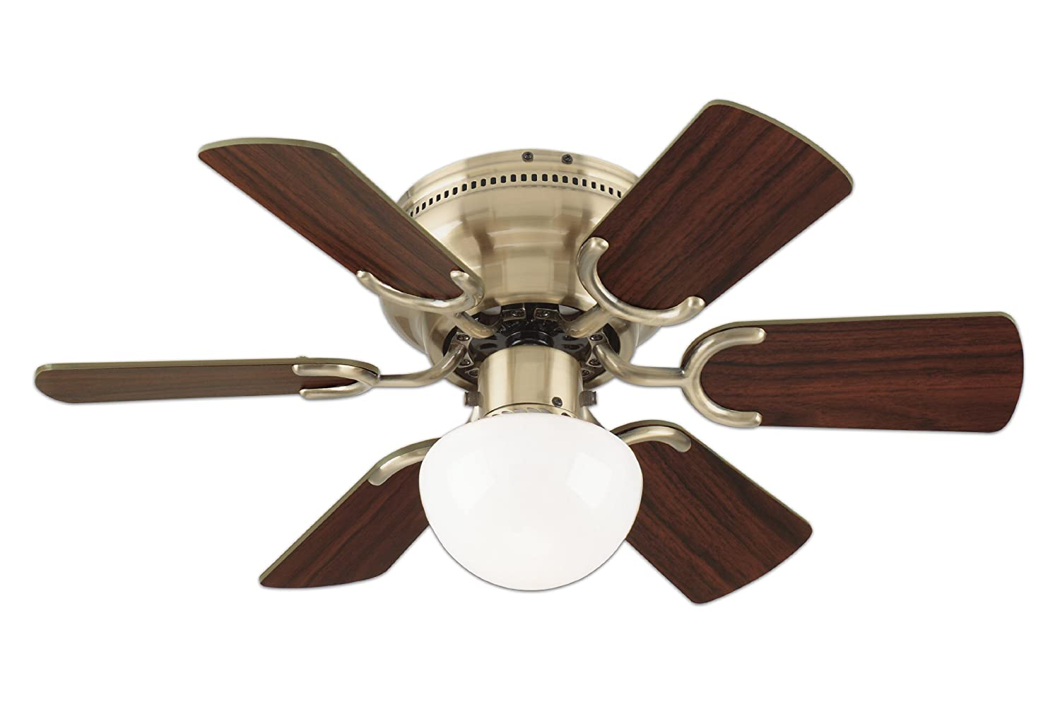 Indoor Stylishly Ceiling Fan w Light Lamp Cooling Home Bedrooms Porch ...