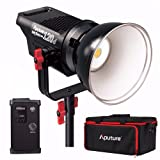 Aputure Light Storm COB 120d Kit CRI96+ TLCI96+ 6000K 135W Bowens Mount High Power LED Continuous Video Light - 18dB Low Noise with 2.4G Remote Control and V-Mount Plate (Tamaño: without Battery)