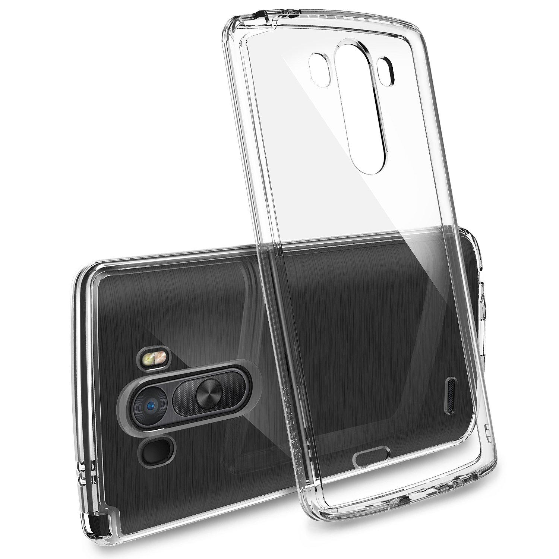 LG G3 Ringke Fusion Case Shock Absorption Bumper Premium Hybrid Hard Case for LG G3