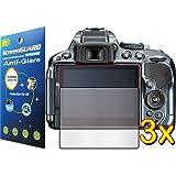 3x Nikon D-SLR D5300 D5500 Digital Camera Premium Anti-Glare Anti-Fingerprint Matte Finishing LCD Screen Protector Cover Guard Shield Film Kits, Exact fit, NO CUTTING (3 pieces, GUARMOR Brand)