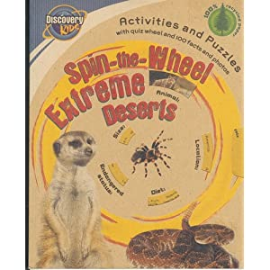 Spin-the-wheel Extreme Deserts (Discovery Brown Paper)