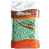 Bluezoo Body Hair Remover Hard Wax Beads for Men,Women -10 Ounces/bag (Green/Camellia) (Color: Green, Tamaño: 10 Ounces)