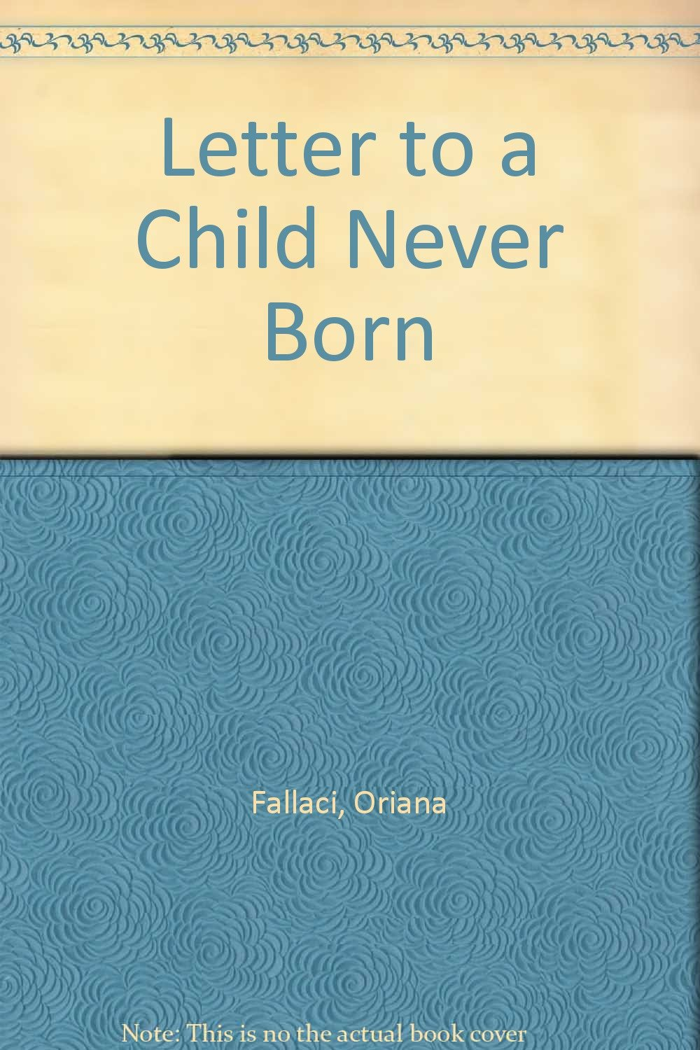 Amazon: Buy Letter To A Child Never Born Book Online At Low Prices In  India  Letter To A Child Never Born Reviews & Ratings