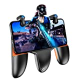 PUBG Mobile Controller, Auto High Frequency Click Mobile Game Controllers Trigger for PUBG/Fortnite/Rules of Survival Gaming Grip and Gaming Joysticks for Android iOS Phone