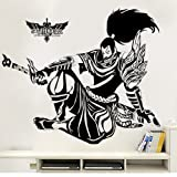 Fangeplus(TM) League of legends Animation Game DIY Removable Art Mural Vinyl Waterproof Wall Stickers Kids Room Decor Nursery Decal Sticker Wallpaper 35.4''x23.6'' (Color: League of legends, Tamaño: 35.4''x23.6'')