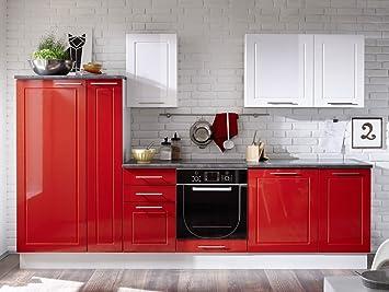 SOFIE Kuchenblock rot/weiß