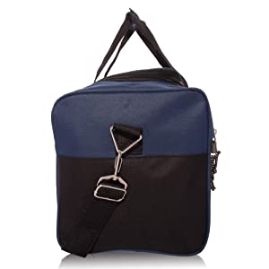 DALIX 19 Blank Sports Duffle Bag Gym Bag Travel Duffel with Adjustable  Strap in Navy Blue ... 78b9e9b2a7